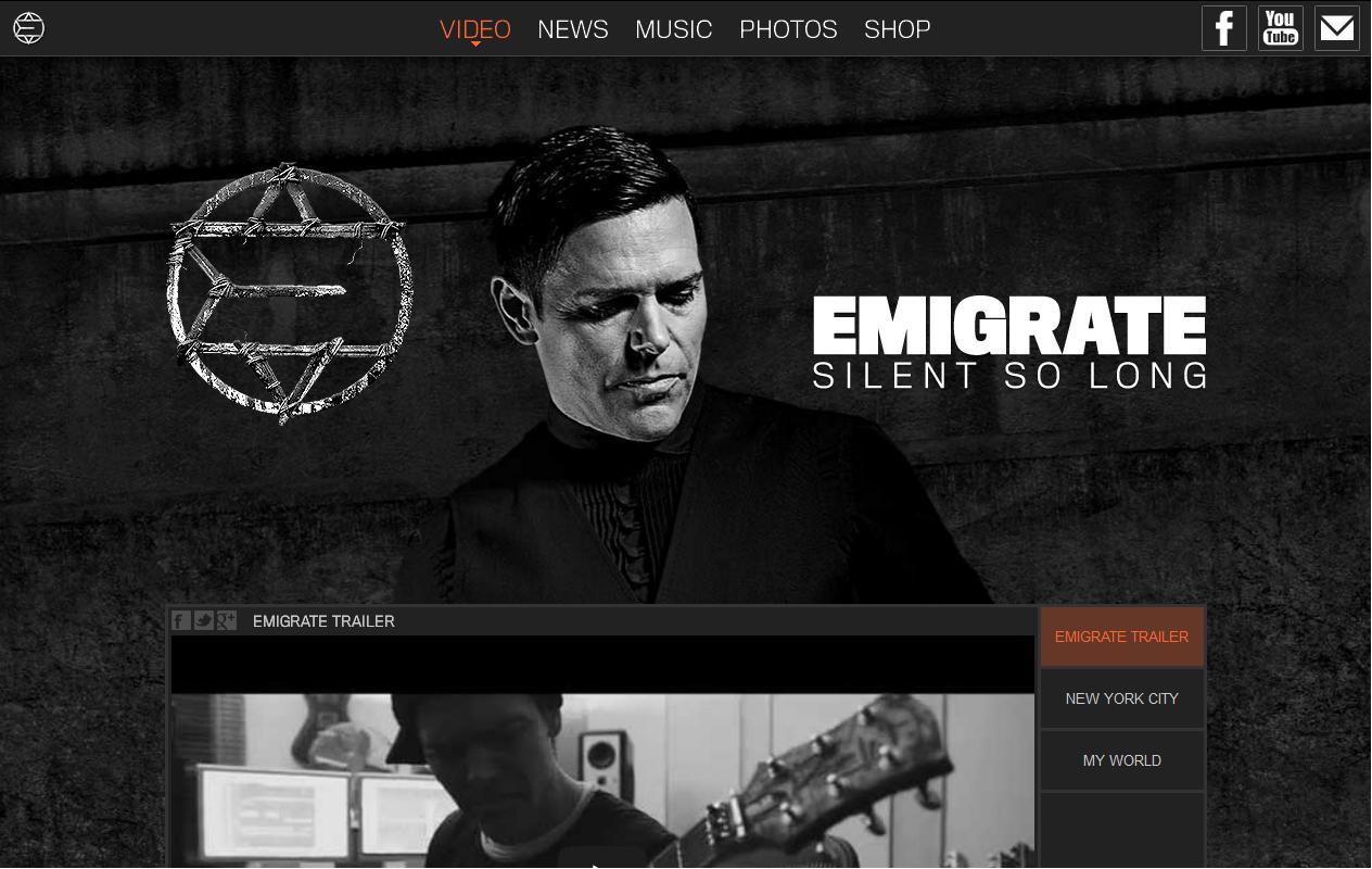 Emigrate-Website